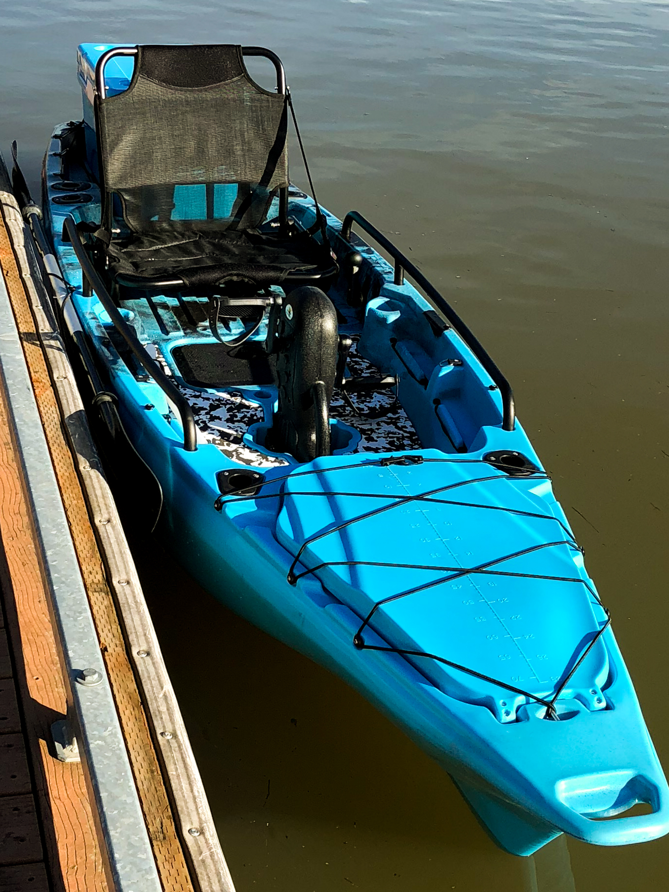 Blackpoint marine llc customized rigid inflatable boats for Fishing kayak with foot pedals